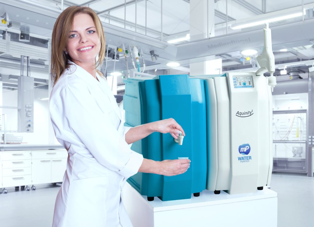 Water purification system of membraPure